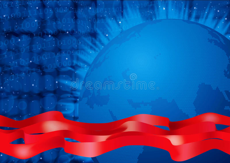 Download Digital world stock illustration. Illustration of concept - 24017301