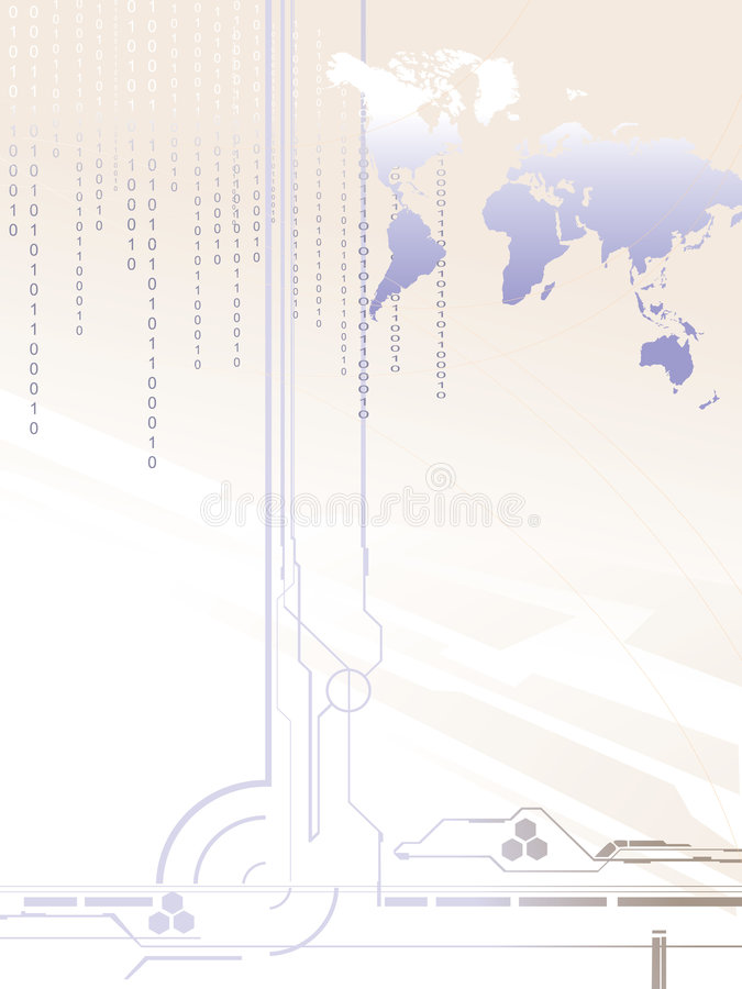 Download Digital world stock vector. Illustration of conceptual - 8451744