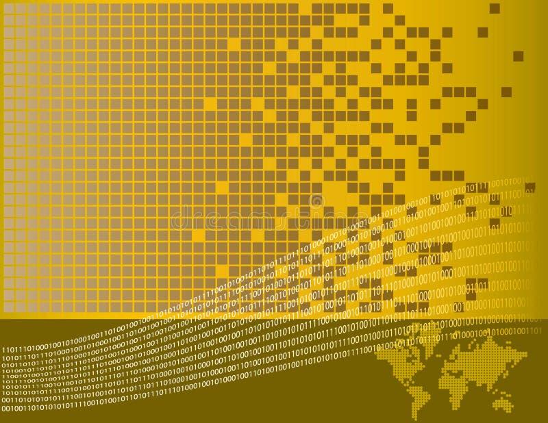 Download Digital world background stock vector. Image of concept - 4774593
