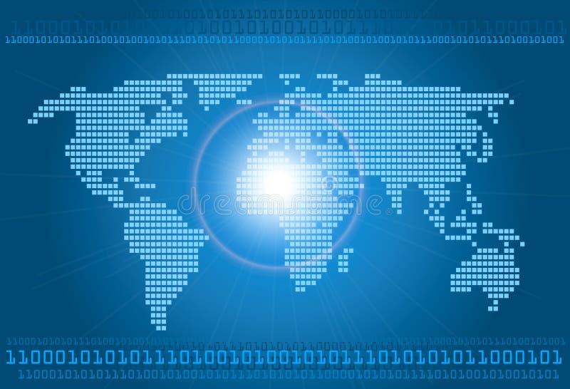 Download Digital world concept stock vector. Illustration of international - 26949183