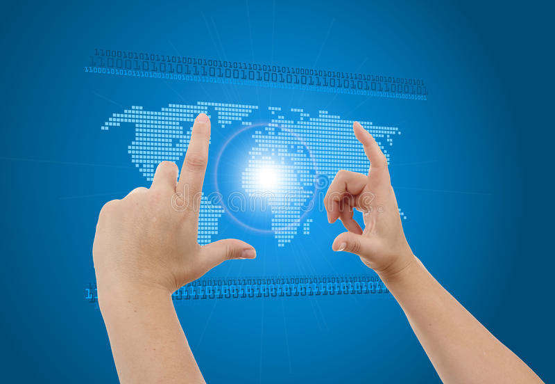 Download Digital World Concept Graphic Stock Illustration - Image: 25574638