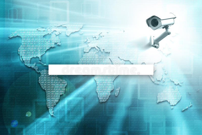 Digital world map with search bar and cctv stock illustration download digital world map with search bar and cctv stock illustration illustration of observe gumiabroncs Choice Image