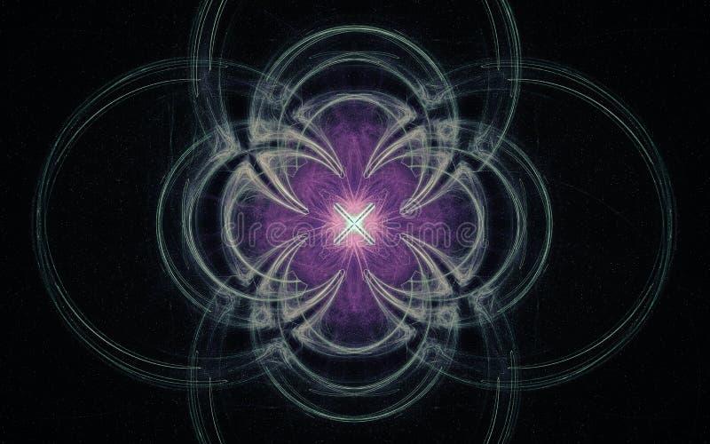 Digital wytwarzał wizerunek w postaci abstrakcjonistycznych geometrycznych kształtów różnorodni cienie i kolory dla używają w sie ilustracji