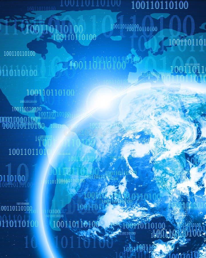 Digital ziemia ilustracja wektor