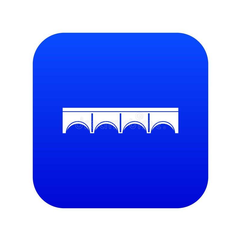 Digitala blått för direkt brosymbol vektor illustrationer
