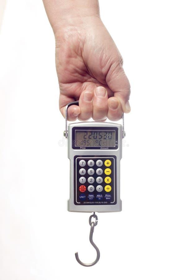 digitala scales arkivbilder