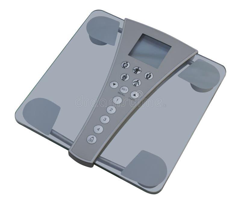 digitala scales för huvuddelsammansättning arkivfoton
