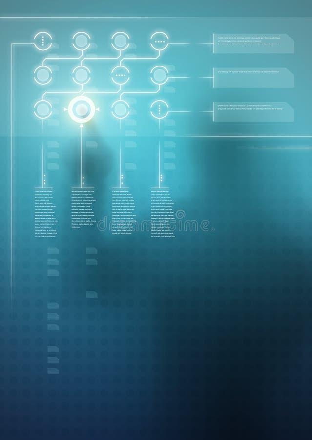 Digitalanzeige stockfoto