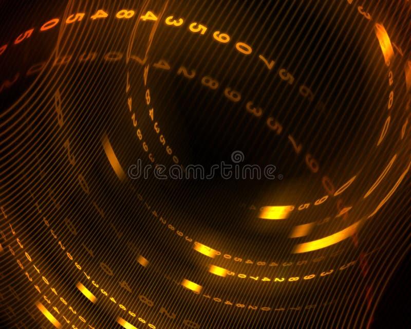 Digitale abstracte achtergrond royalty-vrije illustratie