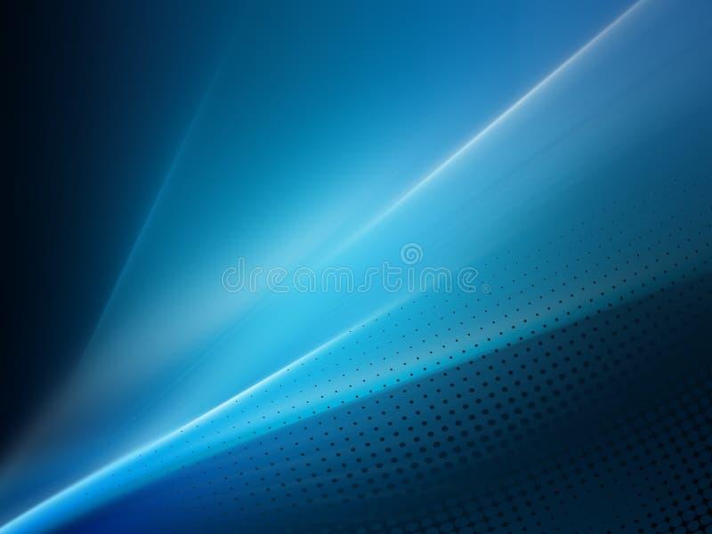 Digitale abstracte achtergrond van de neon de vlotte golf stock illustratie