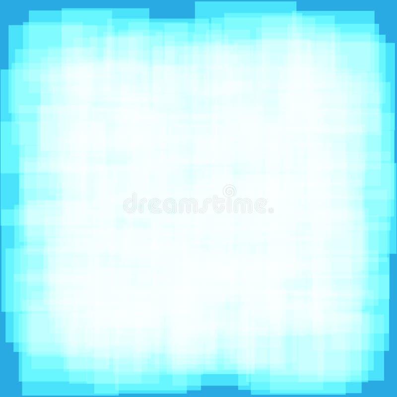 Digitale abstracte blauwe vectorachtergrond royalty-vrije illustratie