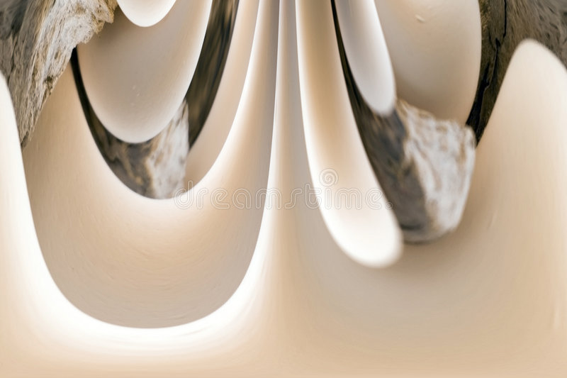 Digitale Abstracte Kunst - Witte Spash royalty-vrije stock fotografie