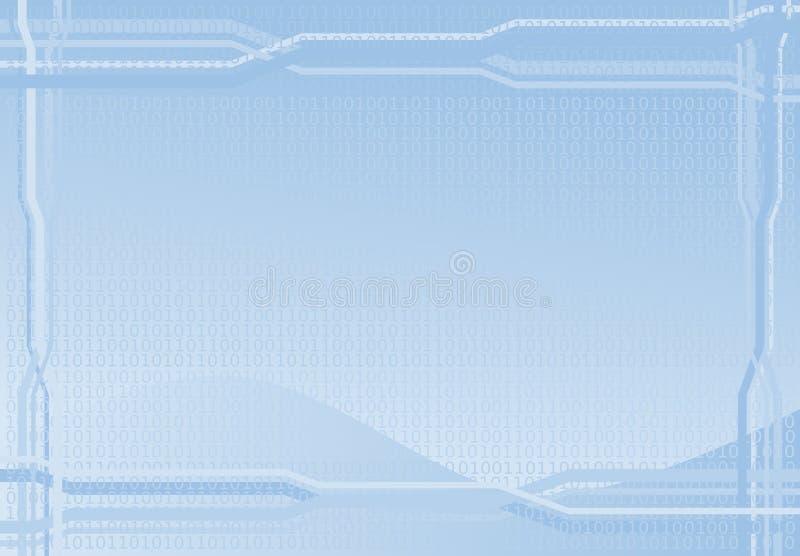 Digitale achtergrond stock illustratie