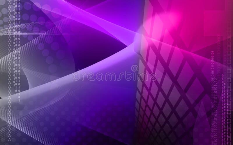 Digitale achtergrond vector illustratie
