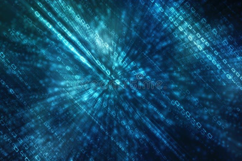 Digitale achtergrond, futuristische achtergrond, bedrijfsachtergrond stock illustratie