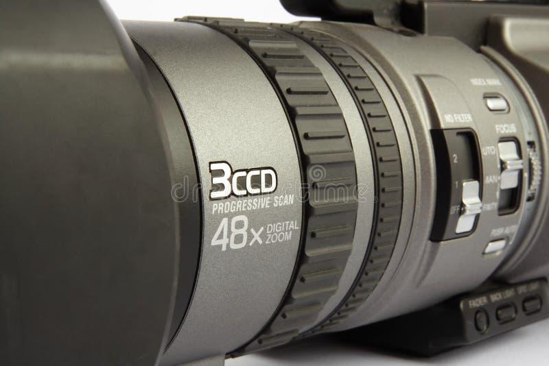 Digitale camcorder royalty-vrije stock afbeeldingen