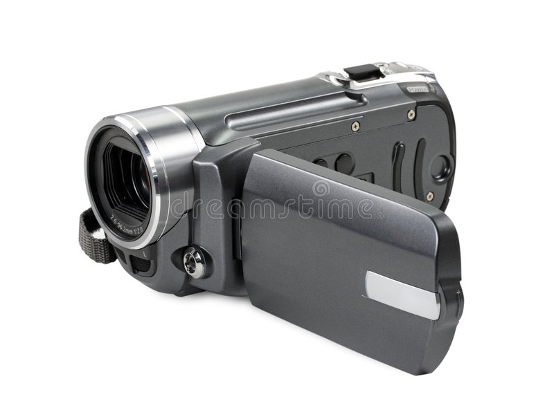 Digitale camcorder stock foto's