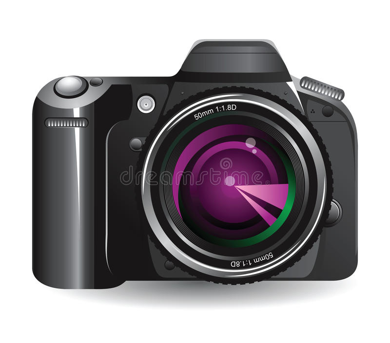 Digitale camera royalty-vrije illustratie