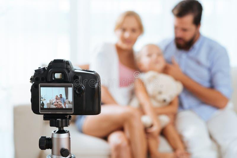 Digitale camera royalty-vrije stock afbeelding