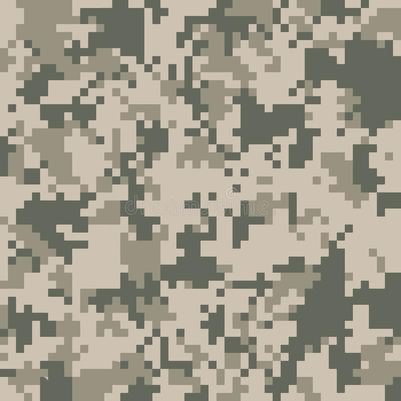 Digitale camotextuur vector illustratie