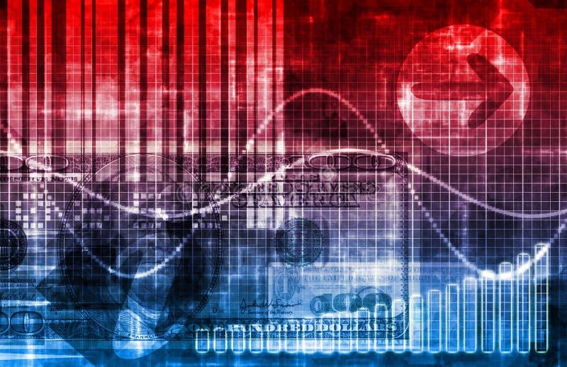 Digitale Economie royalty-vrije illustratie