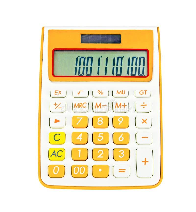 Digitale Elektronische Calculator stock foto's