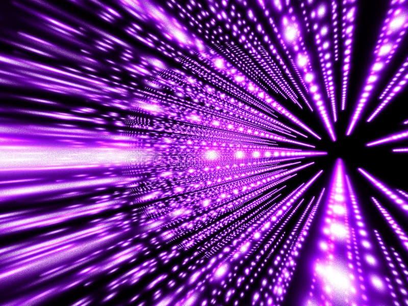 Digitale explotion I vector illustratie