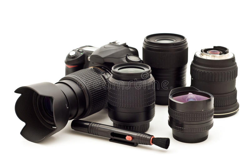 Digitale fotocamera stock foto
