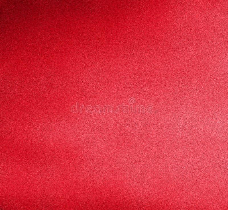 Digitale het Schilderen Kleurrijke Achtergrond in Bloed Rode Kleur op Sandy Grain Layer stock illustratie