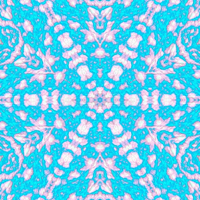 Digitale illustratie, geometrisch abstract naadloos patroon met 3d hulpeffect vector illustratie