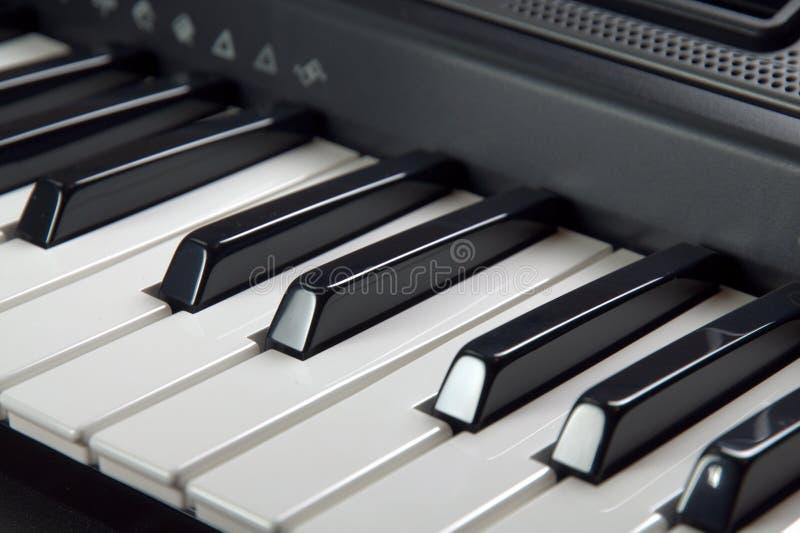 Digitale piano royalty-vrije stock foto