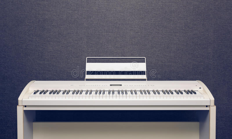 Digitale piano stock fotografie