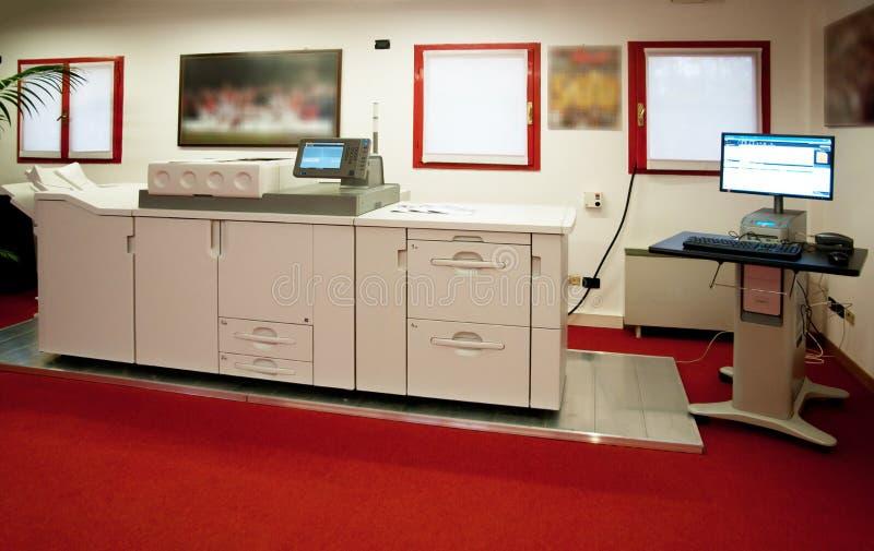Digitale printer - drukmachine royalty-vrije stock foto