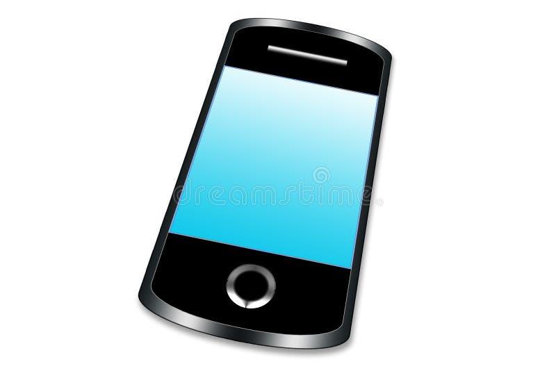 Digitale slimme telefoon royalty-vrije stock afbeeldingen