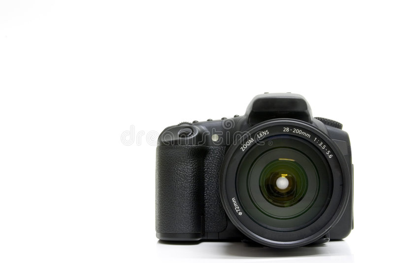 Digitale SLR Royalty-vrije Stock Afbeeldingen