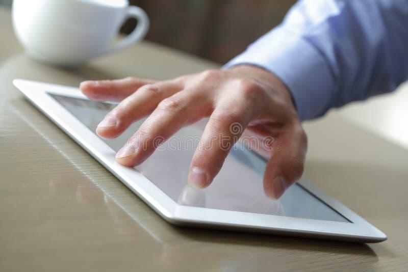 Digitale tablet royalty-vrije stock foto
