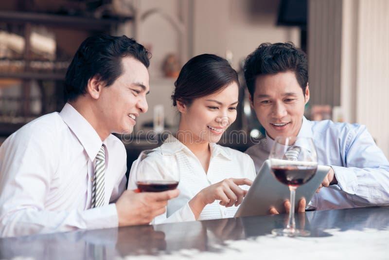 Digitale tablet stock fotografie