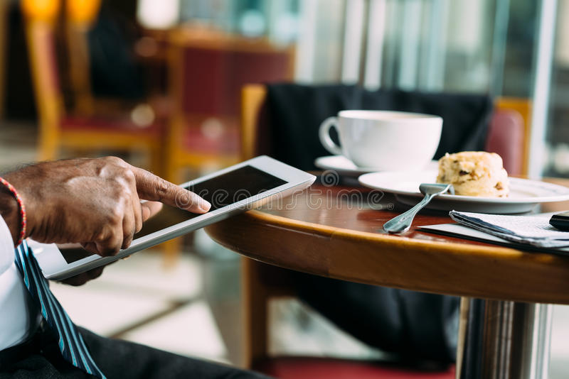 Digitale tablet royalty-vrije stock afbeelding