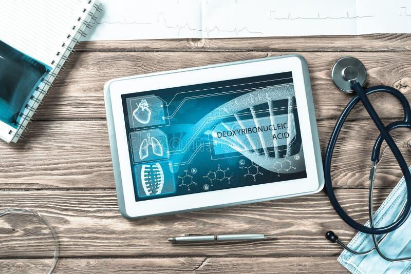 Digitale technologieën in geneeskunde royalty-vrije stock fotografie