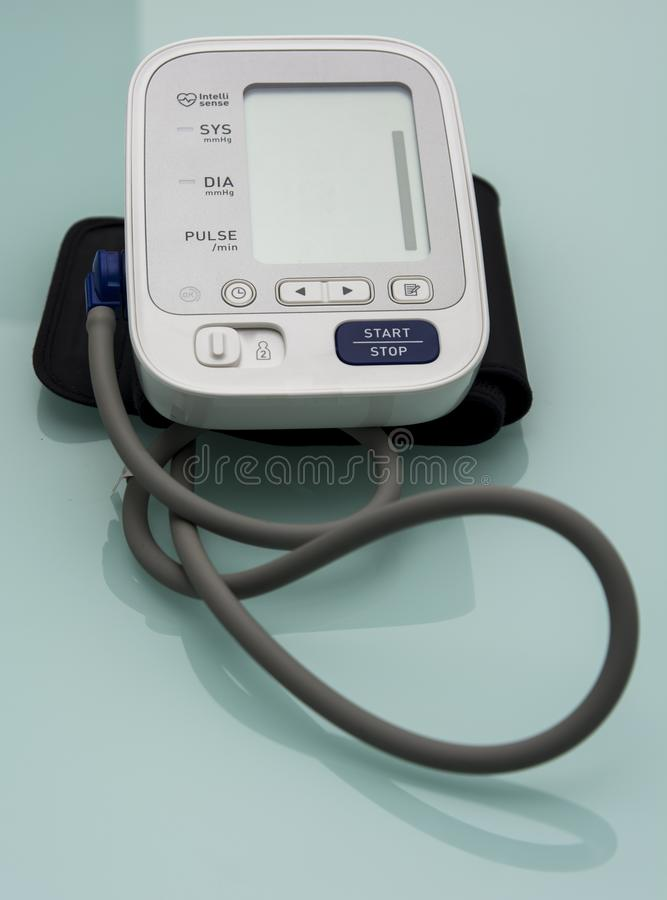 Digitale tensiometer stock foto's