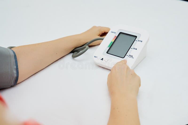 Digitale tensiometer royalty-vrije stock afbeelding