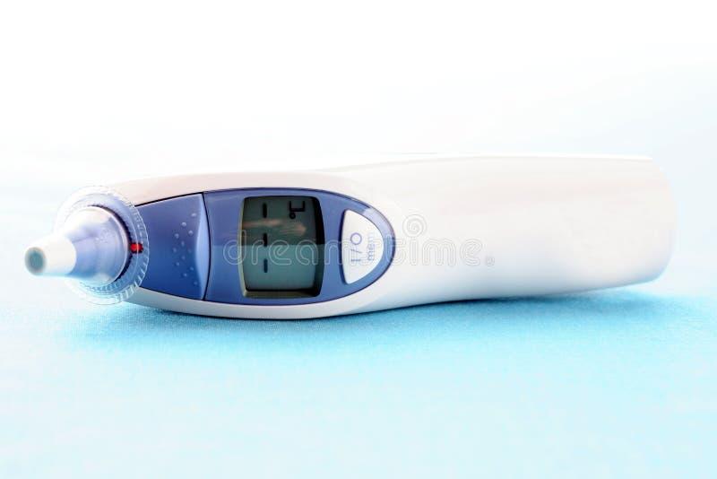 Digitale thermometer royalty-vrije stock fotografie