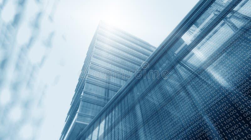 Digitale toren stock afbeeldingen