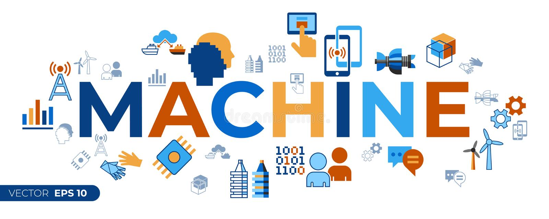 Digitale vector digitale tween hulptechnologie vector illustratie