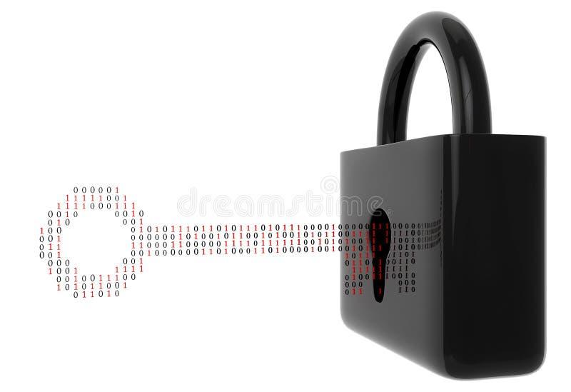 Download Digitale Veiligheid stock illustratie. Illustratie bestaande uit grafisch - 39111190