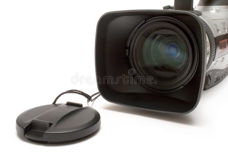Digitale Videocamera (het Vooraanzicht van het Detail) stock afbeeldingen