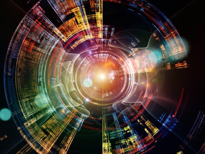 Digitale visie stock illustratie