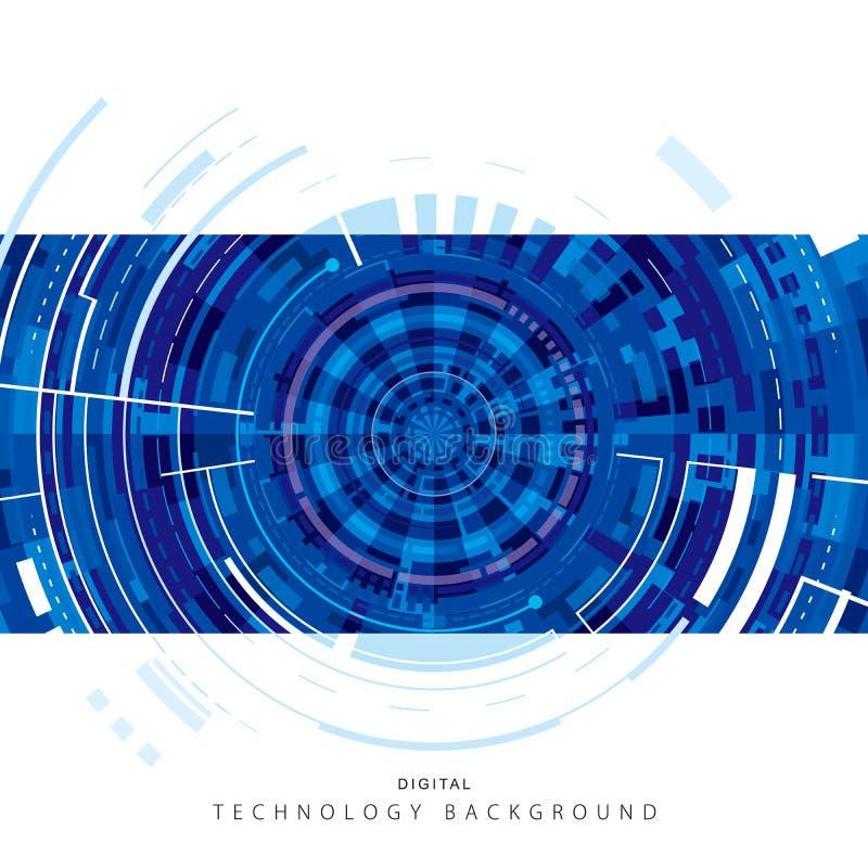 Digitaler Hintergrund der Technologie lizenzfreie stockfotografie