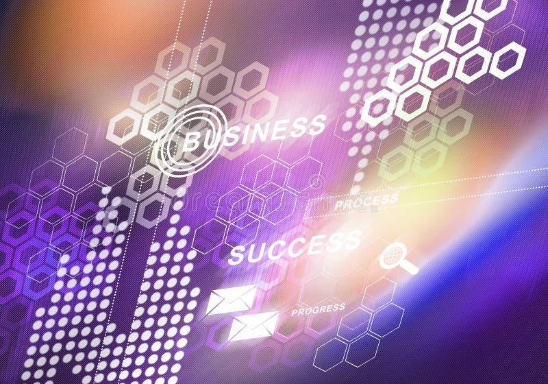 Digitaler Hintergrund des abstrakten Geschäfts stockfoto