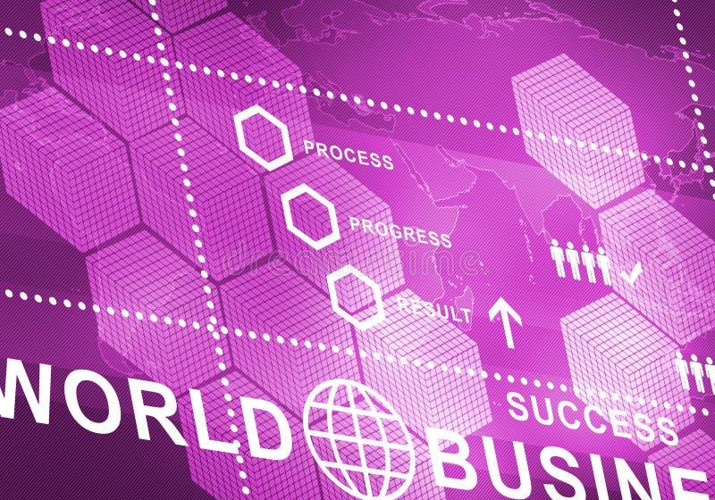 Digitaler Hintergrund des abstrakten Geschäfts lizenzfreie stockbilder